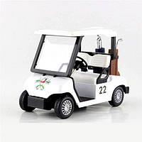 Kinsmart металлическая инерционная машинка Гольф Карт GOLF CART, Кинсмарт KS5105W 008669, фото 1