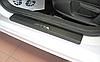Накладки на пороги Volkswagen Jetta VI 2011- 4шт. Карбон
