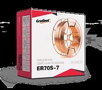 Омедненная проволока ER70S-7