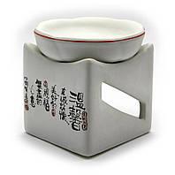 """Аромалампа """"куб с иероглифами"""" (10х10х10 см)"""