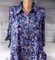 Женская рубашка БОЛЬШОЙ РАЗМЕР 60
