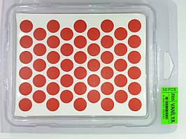 Конфірмат заглушка самоклейка WEISS 2355 червона