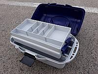 Универсальный ящик, для рыболовных снастей 2 полки