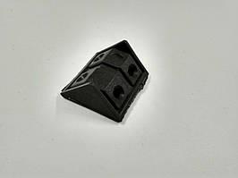 Уголок монтажный двойной черный