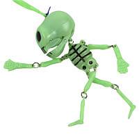 Скелет трещетка брелок.