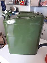 Канистра металлическая для бензина и дизеля, Сталь 20 л