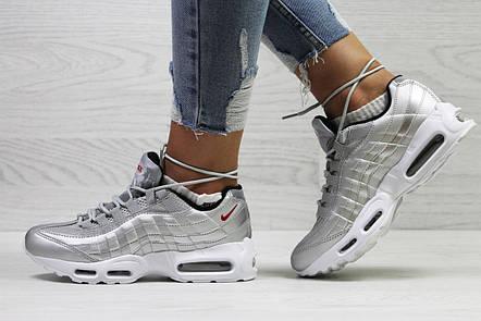 Летние подростковые кросовки Nike air max 95 сетка, фото 2