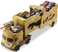 Автовоз перевозчик мегатягач Хот Вилс Hot Wheels Грут стражи галактики Marvel Comics Groot Hauler Vehicle