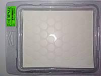 Конфирмат заглушка самоклейка WEISS белая 1110