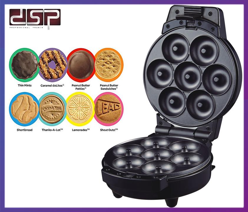 Прибор для приготовления пончиков, бисквитов DSP KC1103 600 Вт.