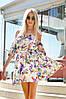 Легкое летнее платье на резинке / софт / Украина