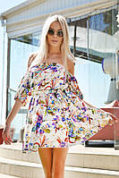 Легкое летнее платье на резинке / софт / Украина, фото 1