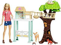 Barbie Барби Центр заботы о животных Animal Rescuer Doll Playset, фото 1