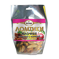 Жевательные конфеты «Ломтики яблочные сушеные с  корицей», 100 г