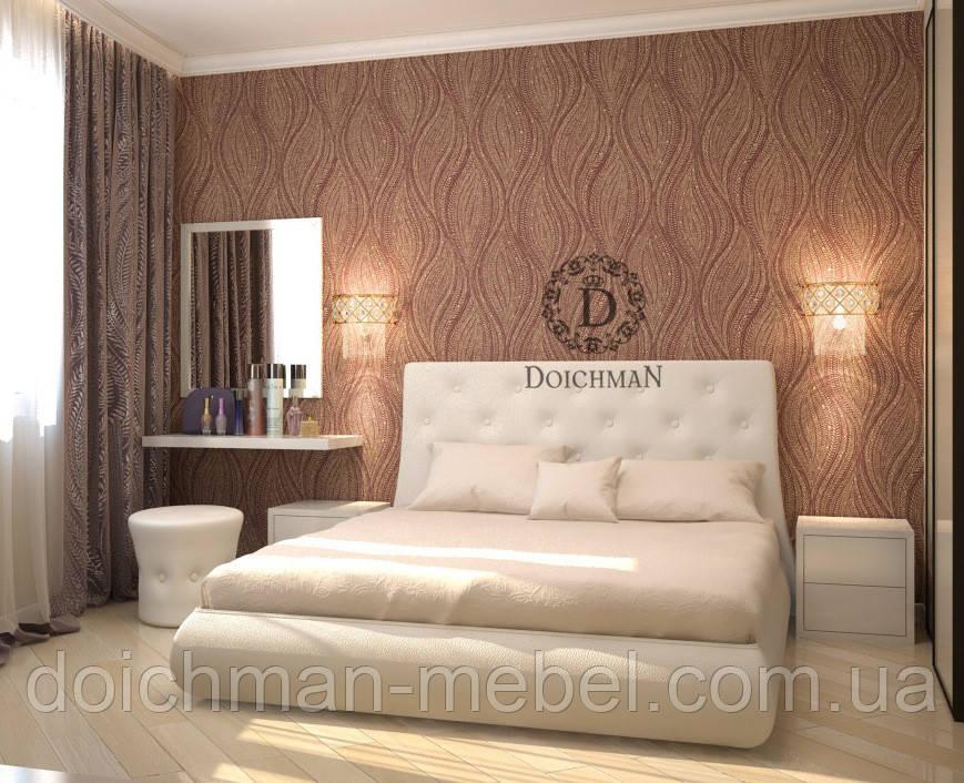 Современные оригинальные двуспальные кровати с мягким изголовьем с подъемным механизмом на ламелях на заказ