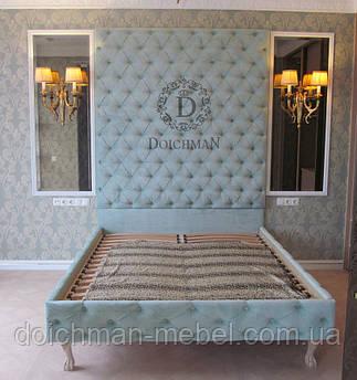 Эксклюзивные дизайнерские двуспальные кровати по эскизу заказчика