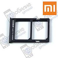 Слот sim лоток Xiaomi Mi Note 2 Black черный 184c1b4b4e263