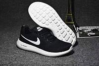 Кроссовки Nike Zoom Flyknit Max Black Черные женские реплика