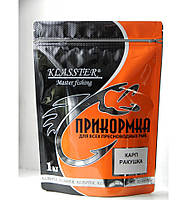Прикормка Klasster Premium Карп Ракушка 1кг