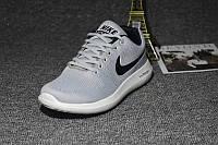 Кроссовки Nike Zoom Flyknit Max Gray Серые женские реплика