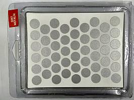 Конфірмат заглушка самоклейка WEISS металік 5067