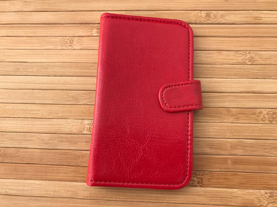 Чехол Book-case Lenovo A316 red