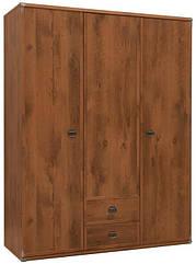 Шкаф трехдверный для одежды JSZF3d2s 150 Индиана БРВ Дуб шуттер