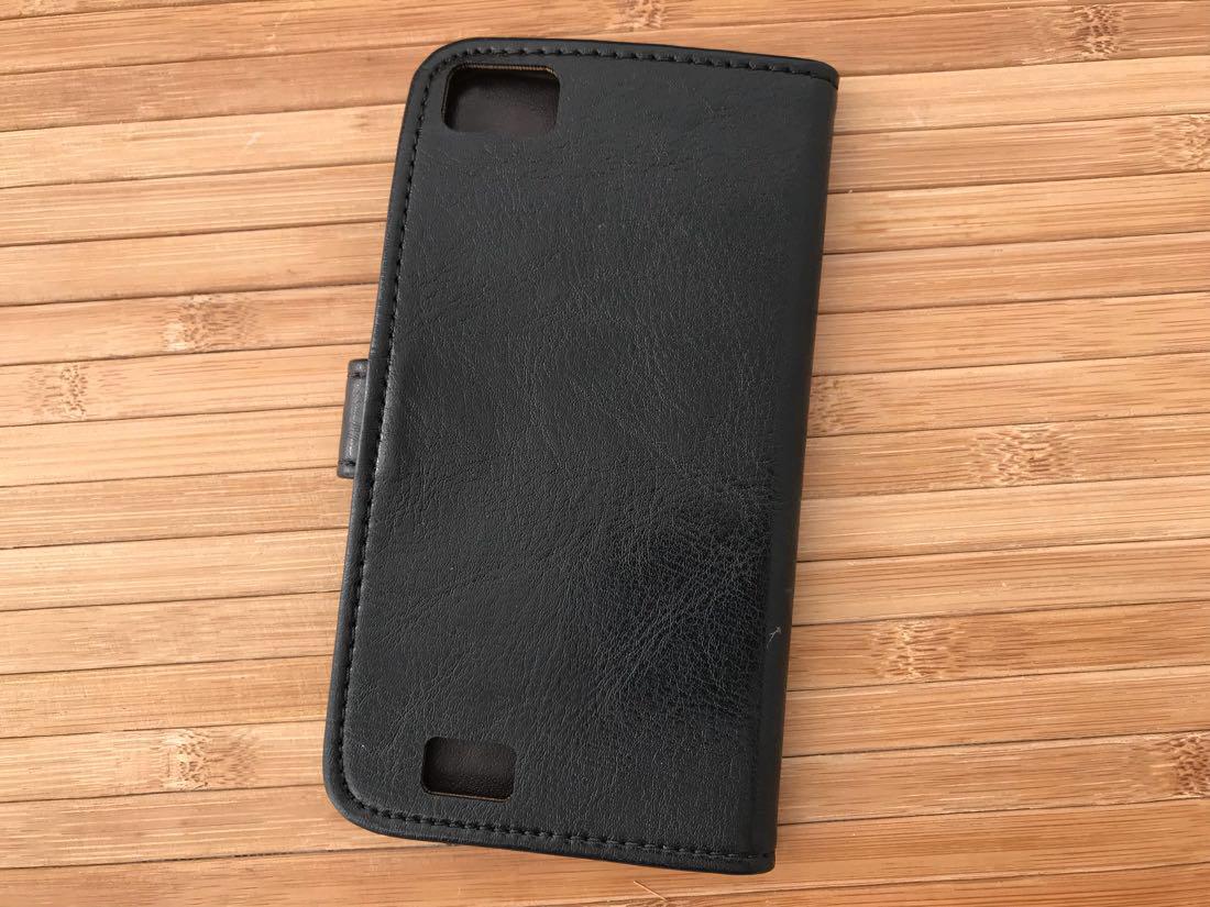 Чехлы для других смартфонов Book-case Bravis Alpha black