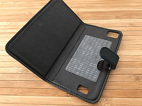 Чехол Book-case Bravis Alpha black, фото 2