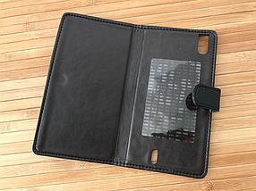 Чехол Book-case Bravis Fire black, фото 2