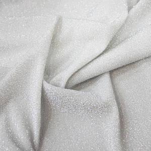 Трикотаж люрекс светлое серебро