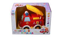 Музыкальная детская развивающая игрушка 9163 Пожарная команда батарейки , свет ,в коробке 22*14*14 см