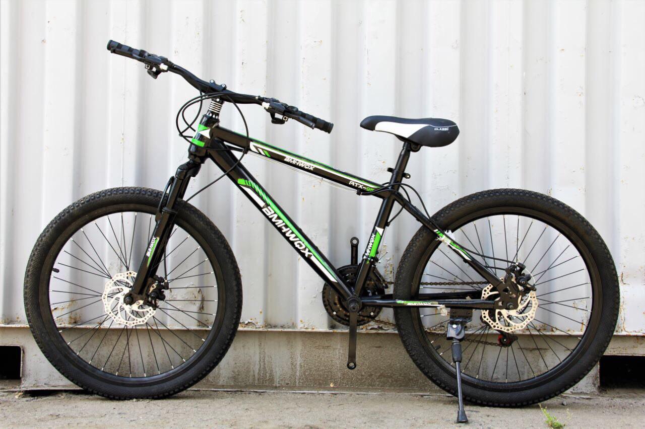Велосипед горный 26 дюймов, полуавтомат переключатель