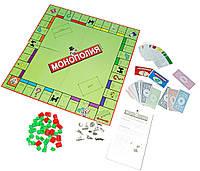 Настольная игра МОНОПОЛИЯ 5211R  в коробке 27*27*5 см.
