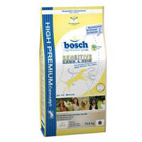 Bosch Sensitive Lamb and Rice Сухой  корм для взрослых собак склонных к аллергии 15