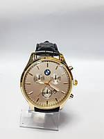 Часы кварцевые мужские в стиле BMW арт.885 Золотистый