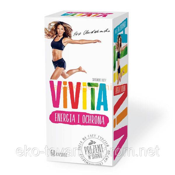 Витамины ViViTA энергия и защита 60 шт