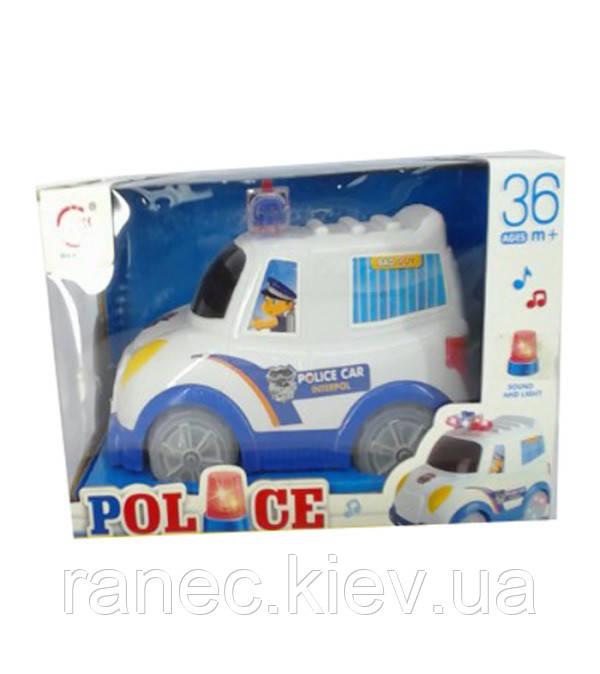 Музыкальная игрушка детская машинка 8338-2 в коробке