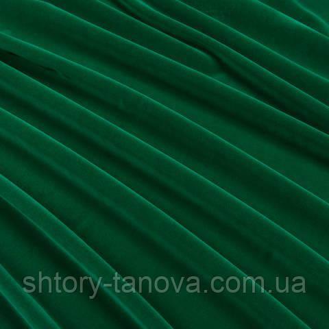 Велюр зелёная листва