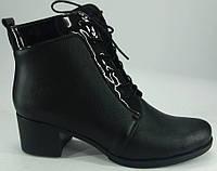 """Ботинки зима из натуральной кожи на каблучке от производителя модель """"БШ - 01"""""""