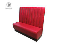 Кожаный диван с высокой спинкой для кафе, клубов, ресторанов