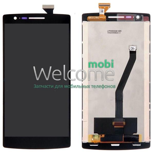 Модуль OnePlus One,A0001 black дисплей экран, сенсор тач скрин для тел