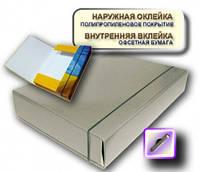 Папка-короб на резинке А4 серая