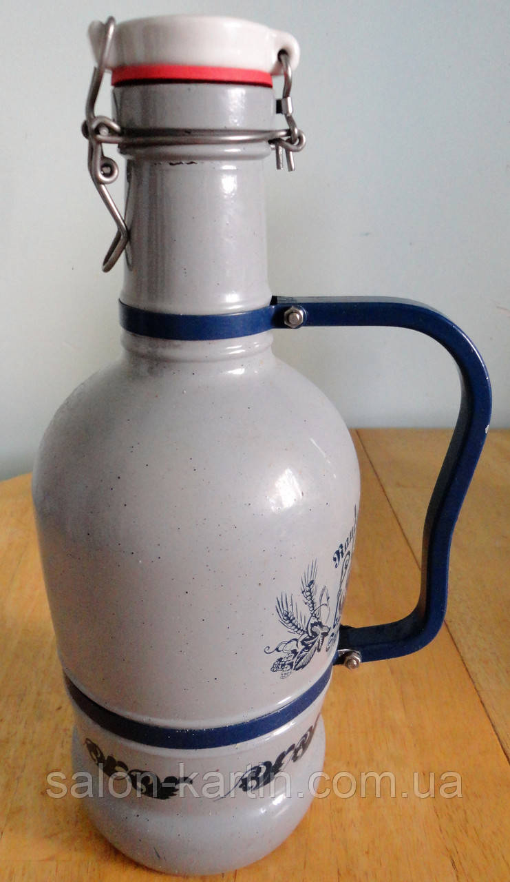 Глоулер, бутылка с бугельной пробкой, Германия