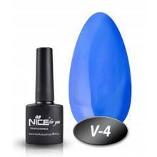 Вітражний гель-лак Nice for you, синій
