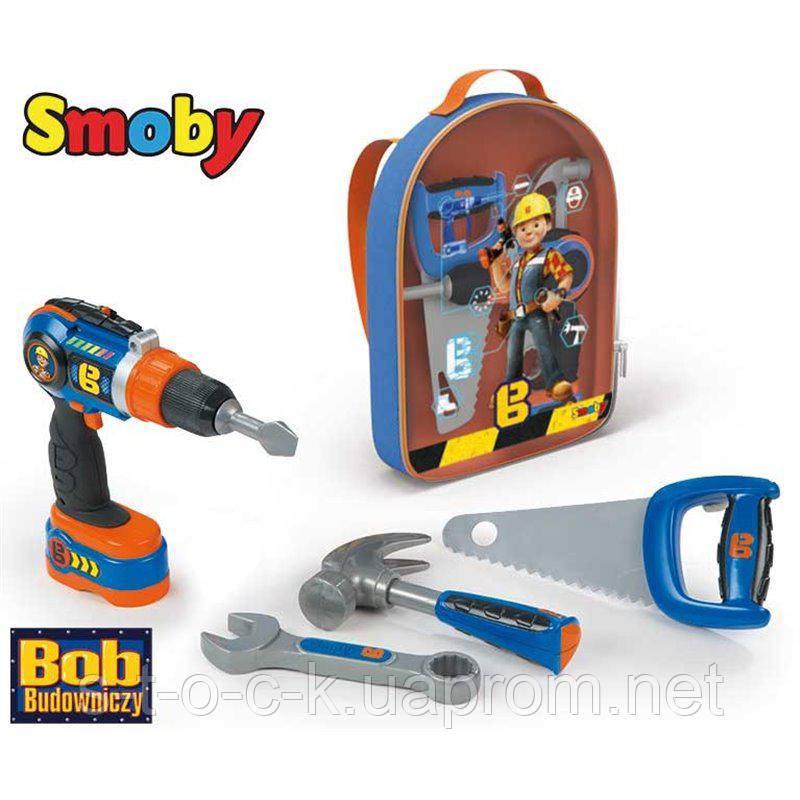 SMOBY 360136. Игровой набор 'Рюкзак с инструментами'