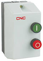 Пускатель электромагнитный в корпусе с тепловым реле LE1-09, АС-3, 4кВт, реле 7-10А, 220В, 9А, CNC