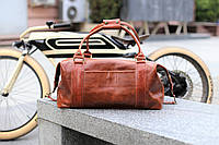 "Брендовая кожаная сумка ""Sport&Travel"" DS  Алькор, фото 1"
