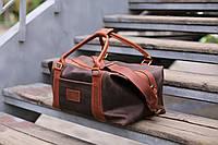 Дорожная кожаная сумка Sport&Travel DS