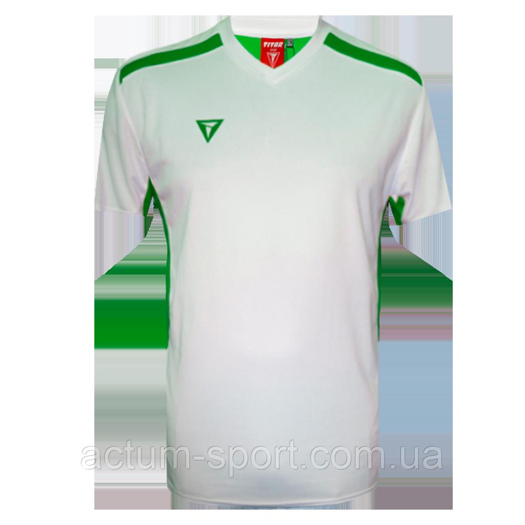 Футболка игровая Futsal Titar Бело/зеленый, XL